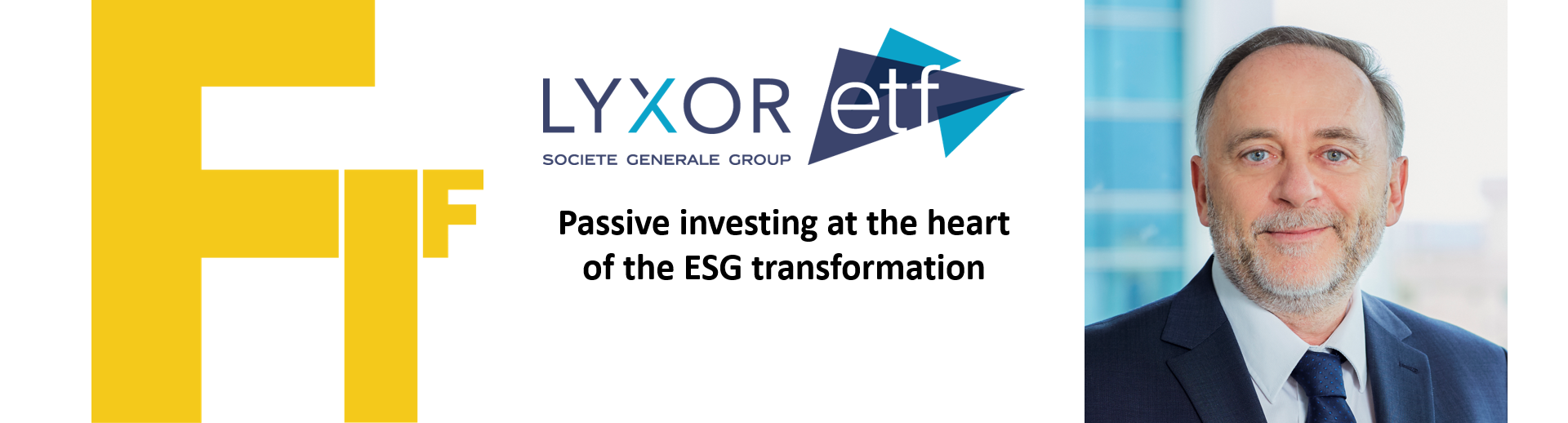 Passive investing at the heart of the ESG transformation (Lyxor ETF)